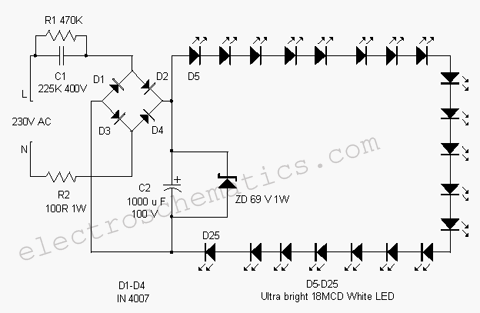 Durite Flasher Unit Wiring Diagram as well 220v Light Dimmer Switch further Kawasaki Ninja Zx10r Lighting System Circuit And Headlight Schematic furthermore Wiring Diagram Of An Led Bulb additionally 4 Bulb Fluorescent Light Ballast Wiring Diagram For A. on led lamp wiring diagram
