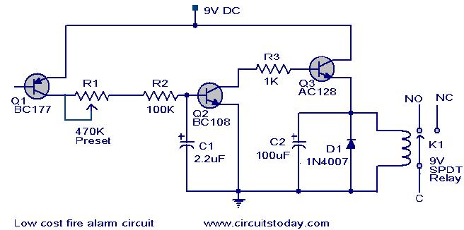 Alarm Circuit Page 10 Security Circuits Next Gr