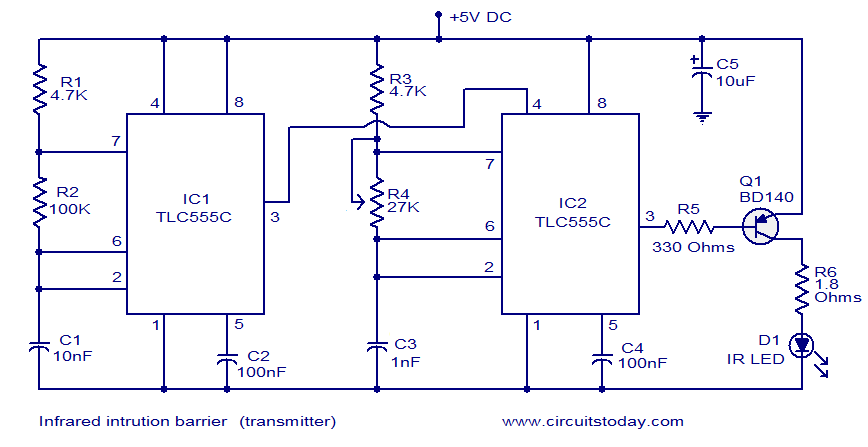 video transmitter circuit diagram pdf