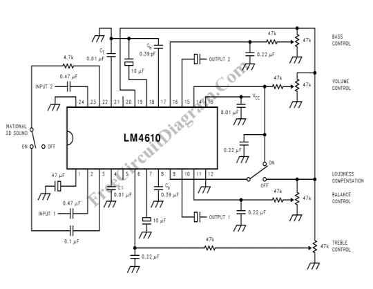 audio tone balance circuit page 4   audio circuits    next gr