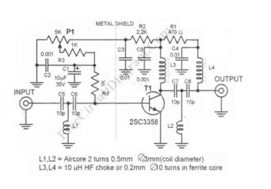 Superb Tv Signal Amplifier Circuit Basic Electronics Wiring Diagram Wiring Database Gramgelartorg