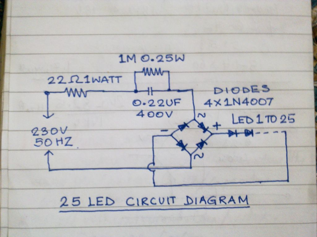 New Circuits Page 102 Inside Gt Ac To Dc Converter L9088 Nextgr Mains Operated Led Lamp