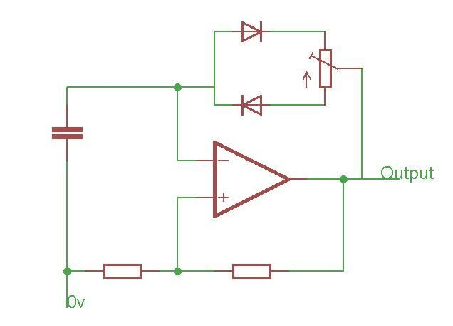 12V light dimmer - schematic