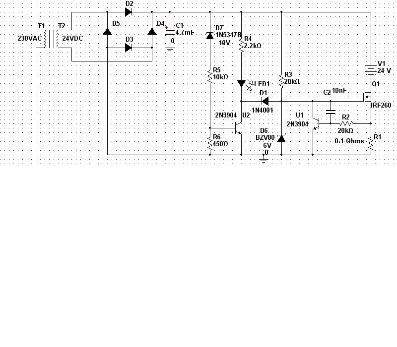 24V Battery Charger Schematic - schematic
