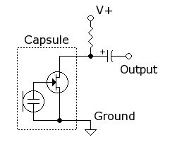 simple microphone circuit