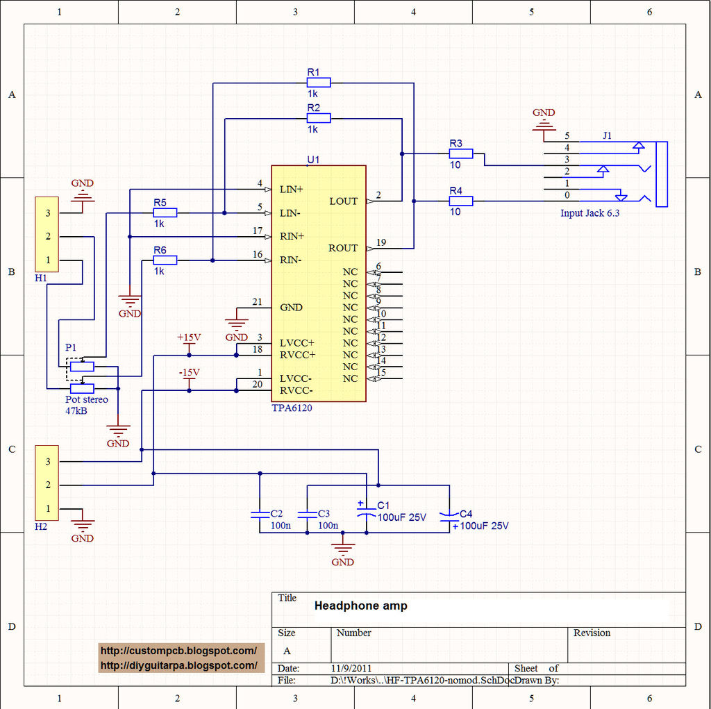 Popular Circuits Page 229 Scr Driver Amplifier Circuit Amplifiercircuit Diagram This My Fist Project With Smd I Ignored Because The Small Sized Parts Are Confused Me Of Current Is Headpho