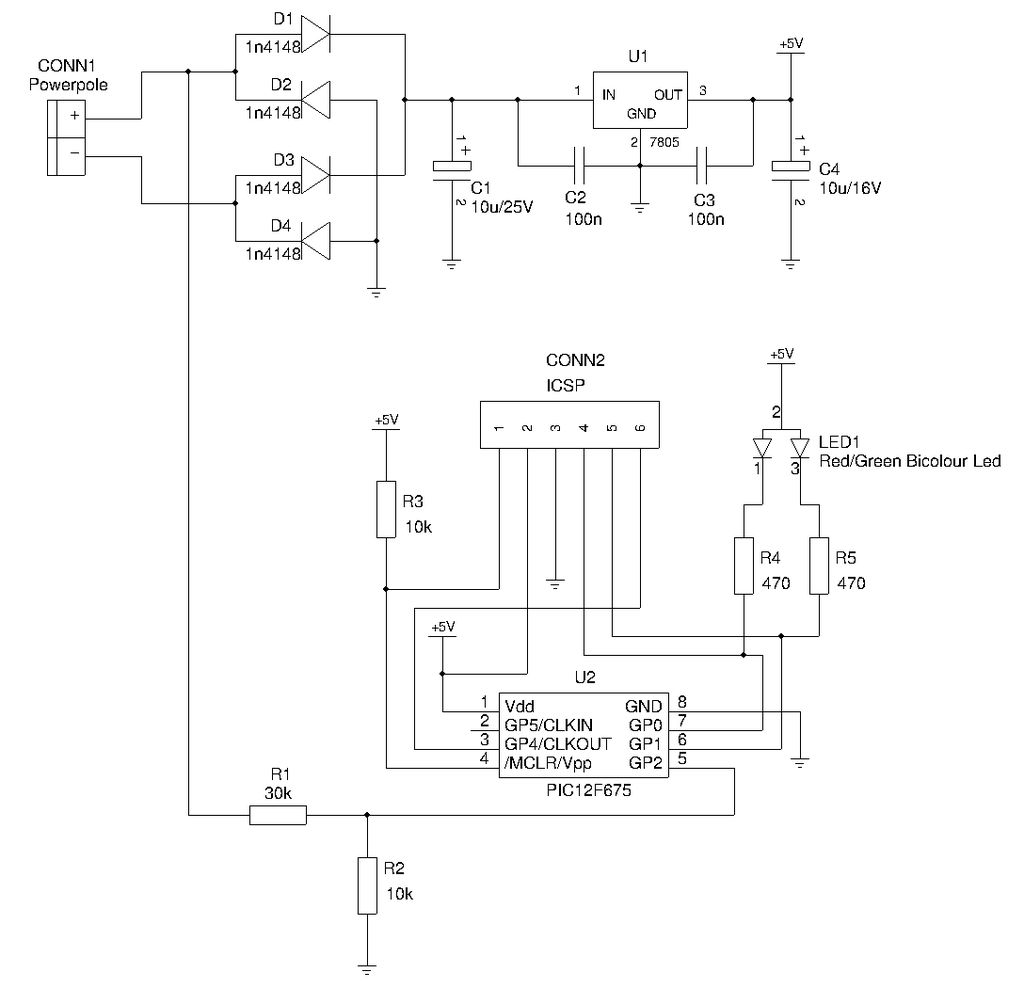 Tester Circuit Page 8 Meter Counter Circuits Lm3914 12v Battery Monitor Hqewnet Anderson Powerpole Polarity And Voltage