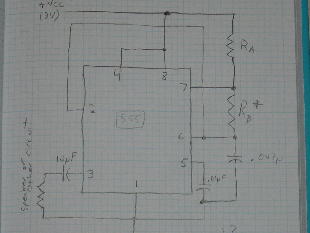 Square Wave Generator (For Resonant Air-Gap Transformer) - schematic