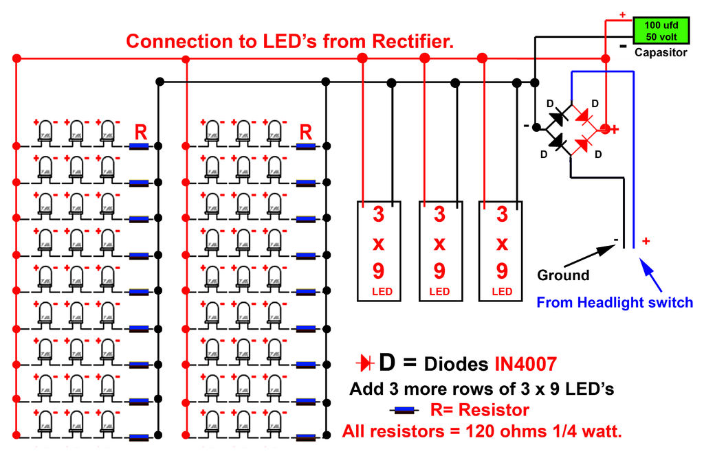 Diy led grow light schematic do it your self