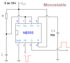 555 timer ic operation - schematic