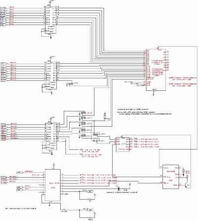 Alpine Board Memory Schematic - schematic