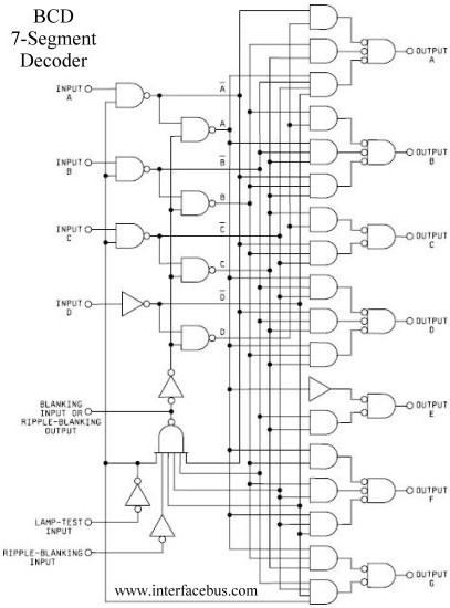 4 bit decoder schematic