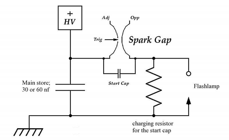 diy dye laser - schematic
