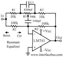 Audio Resonant Equalizer Circuit Design