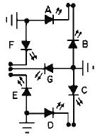 BCD to Seven Segment Decoder IC description - schematic