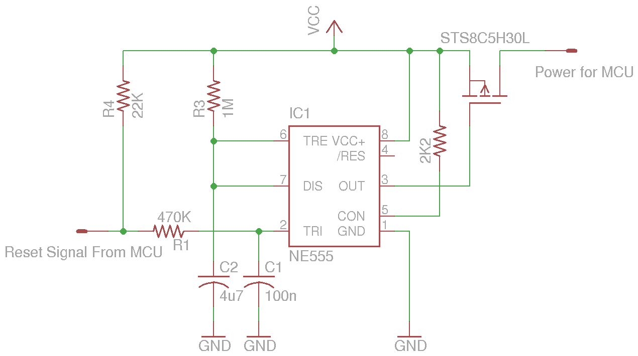 Temperature and Humidity Logging Over Ethernet I - schematic