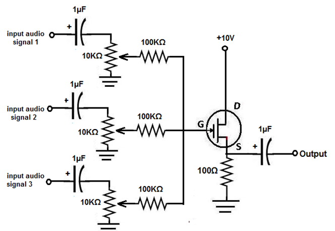 audio mixer circuit page 3   audio circuits    next gr