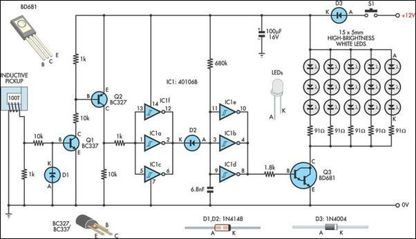 automotive led timing light circuit diagram 2 12v led downlight wiring diagram efcaviation com  at reclaimingppi.co