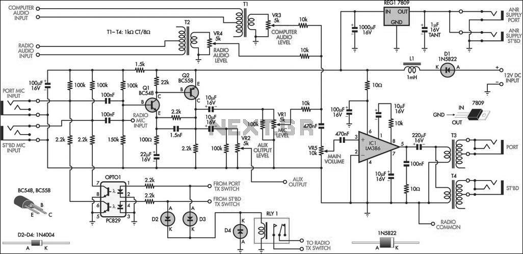 car alarm circuit page 2   automotive circuits    next gr