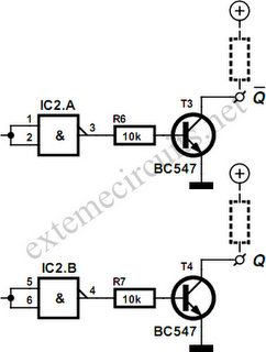 4011 Quadinput Nand Gate Positive Logic Nand Gates - schematic