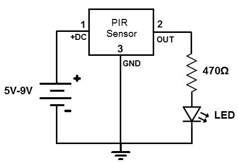 gt  circuits  gt  motion detector circuit l46709 next gr pir motion sensor wiring diagram pir motion sensor circuit diagram pdf