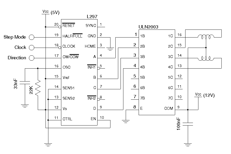 Stepper Motor Circuit Page 2 Automation Circuits