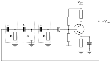 Oscillator circuits - schematic