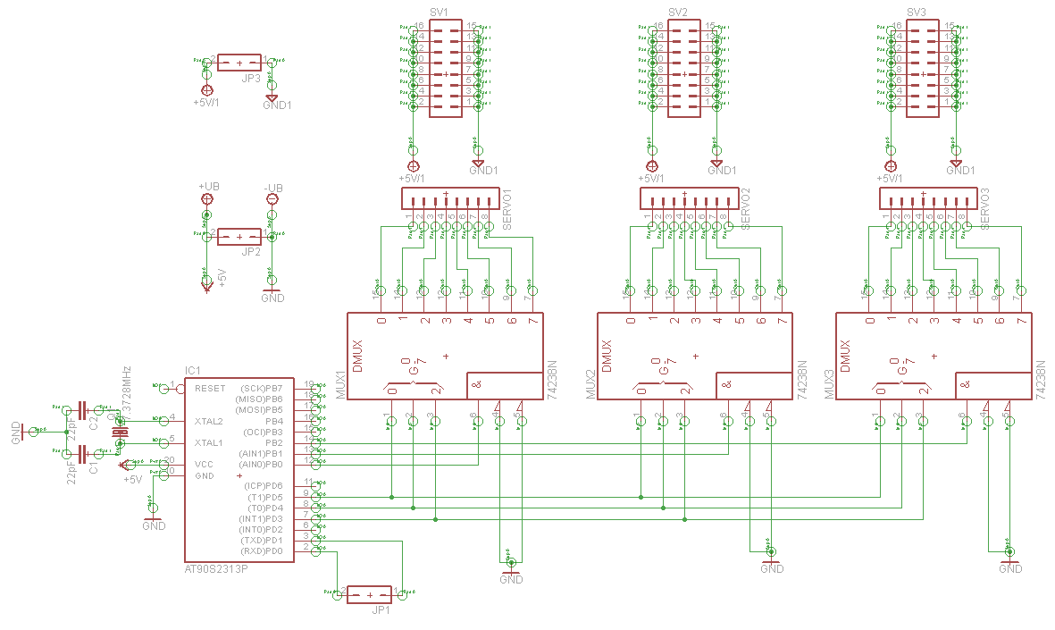 avr How to redesign a circuit to use a current sinking IC rather than a current sourcing IC - schematic