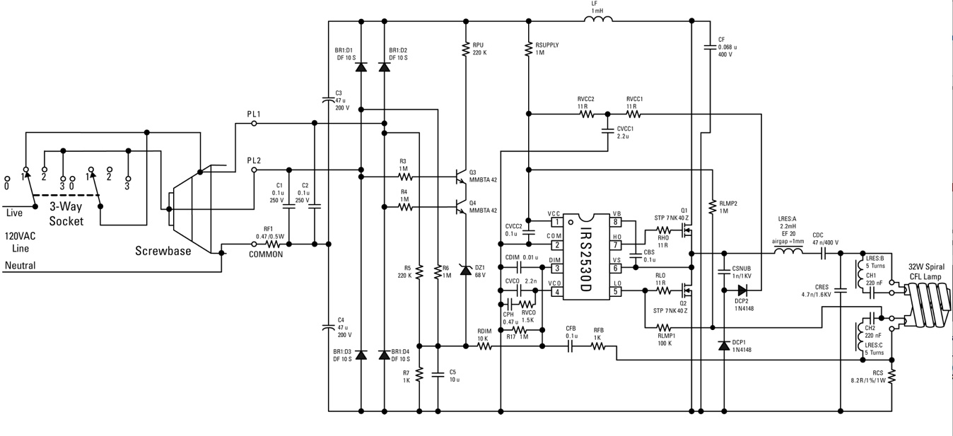 LED Lighting - schematic