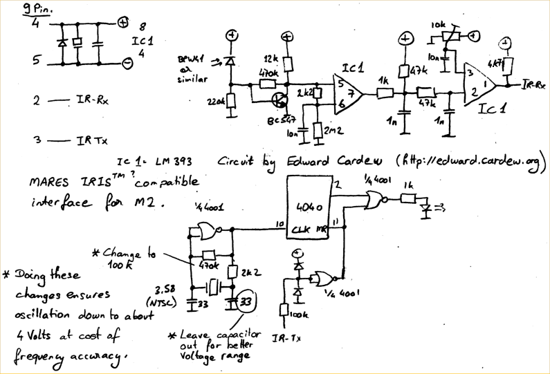 Mares Iris Interface Schematic Circuit Under Repository