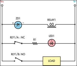 voltage relay schematic get free image about wiring diagram