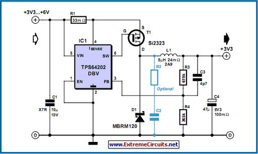 Step-Down Converter Controller - schematic