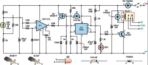 light sensor circuit page 3 light laser led circuits next gr rh next gr