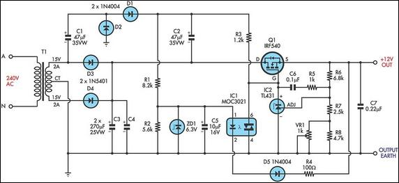 Ultra Low Drop Linear Voltage Regulator
