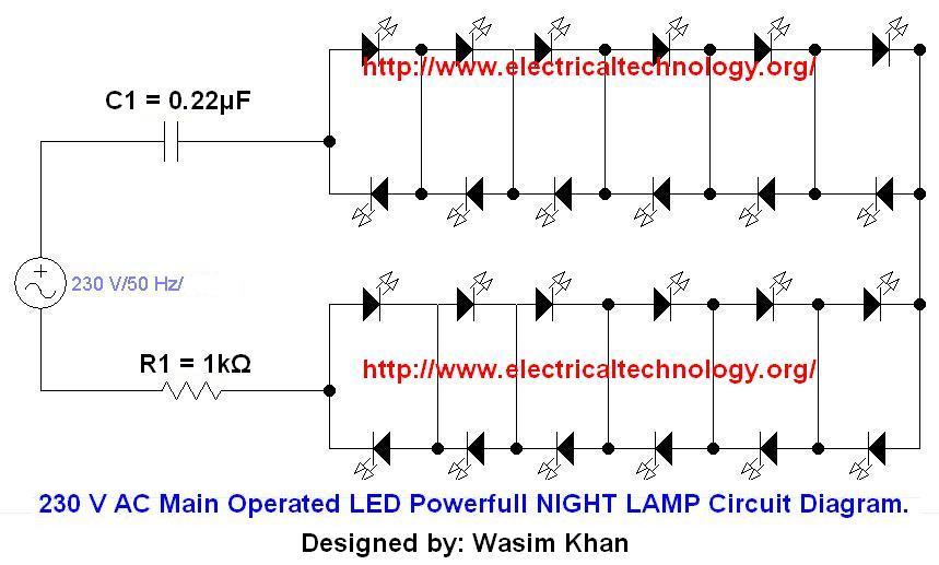 wiring a 120 vac led light 120 vac power supply