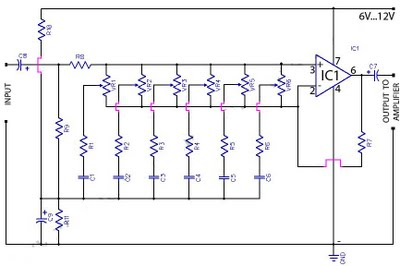 Light/Dark Switch With Relay - schematic