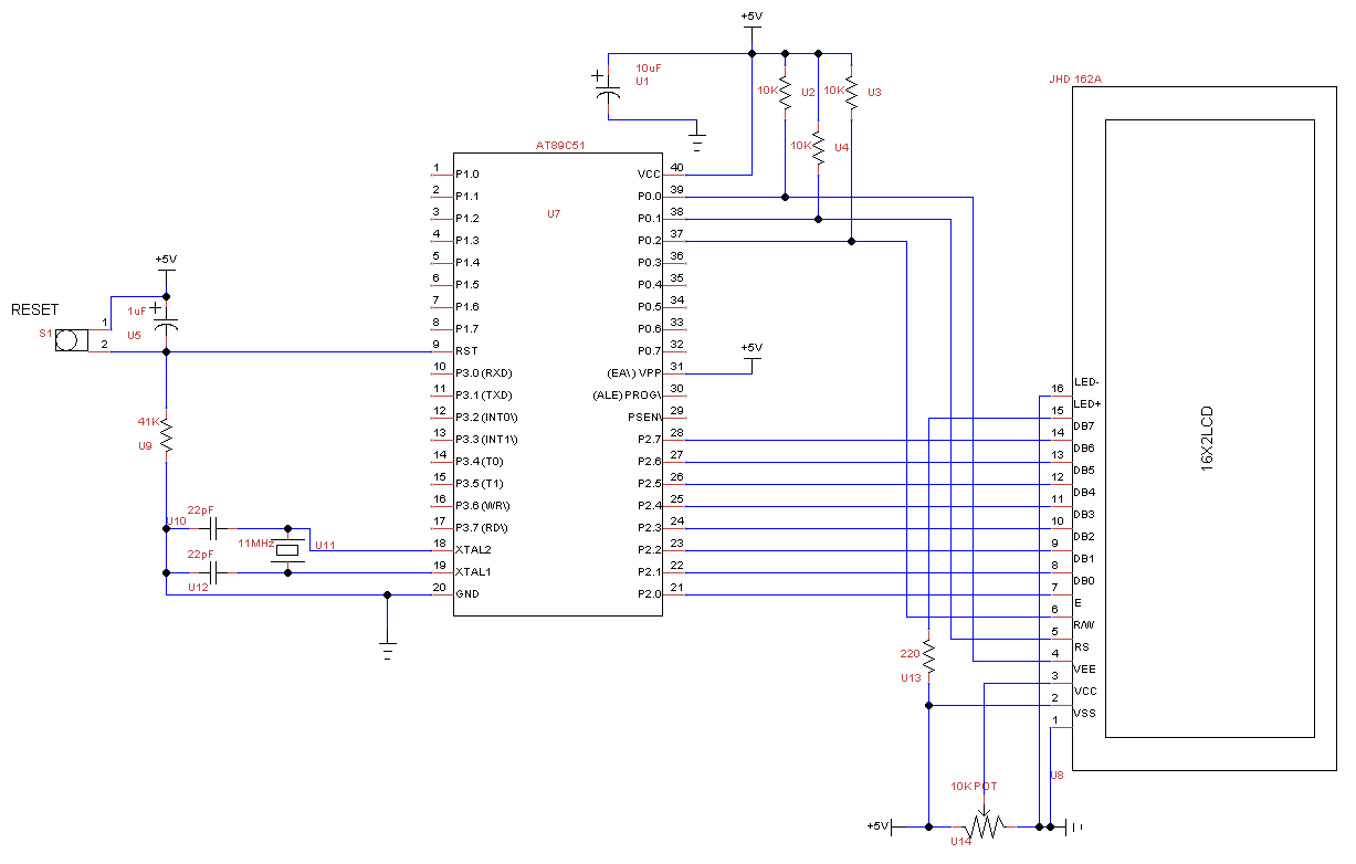 Lcd Circuit Page 4 Light Laser LED Circuits Nextgr