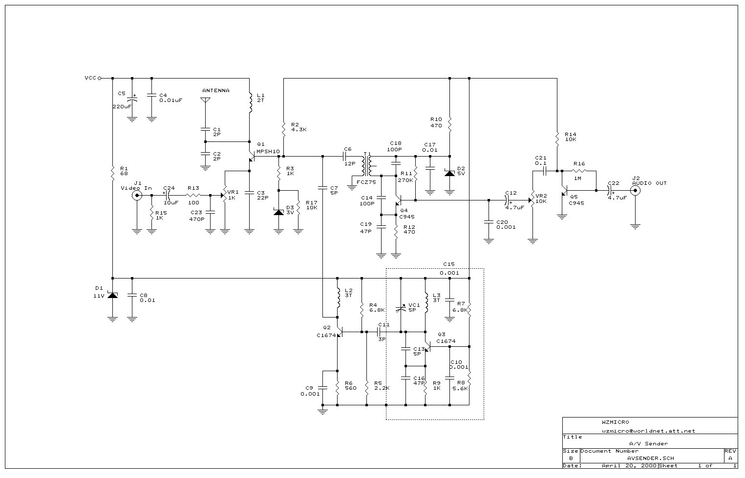 Uhf Tv Transmitter Circuit Diagram Not Lossing Wiring Moreover Lifier On Schematic Of Power Amp Rf Circuits Next Gr Cable Receiver Wireless Recommendation