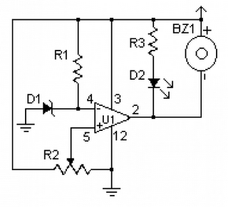 low voltage monitor schematic