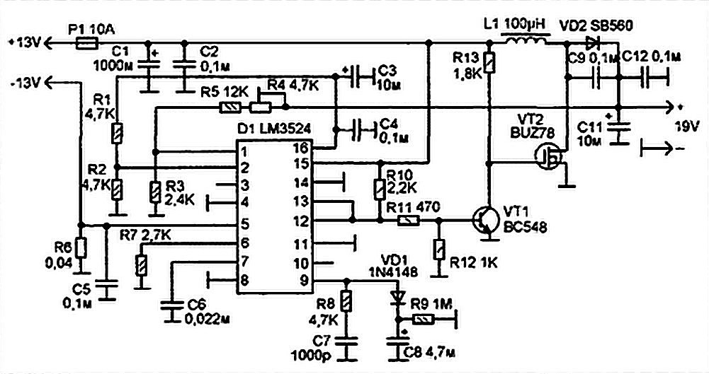 Laptop Power Supply For Car Schematic Diagram Under