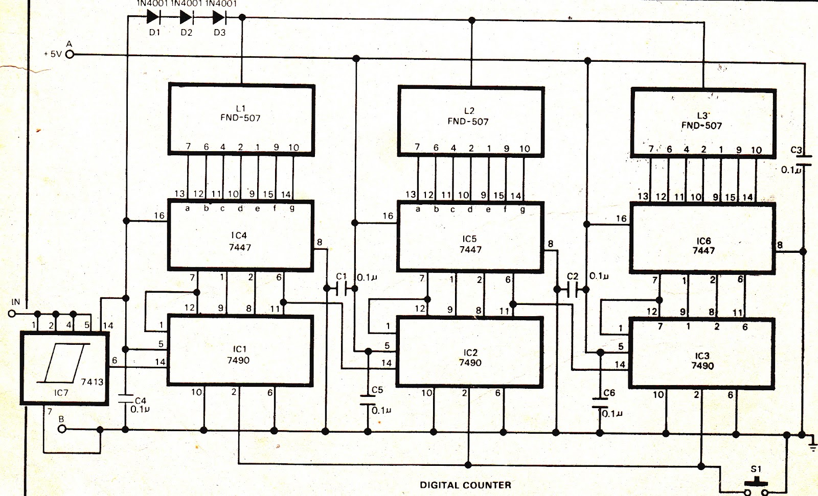 Results Page 25 About Simple Buzzer Driver Searching Circuits At This Is A Circuit Diagram Of 5led Audio Vu Meter Using Ic Emergency Lamp
