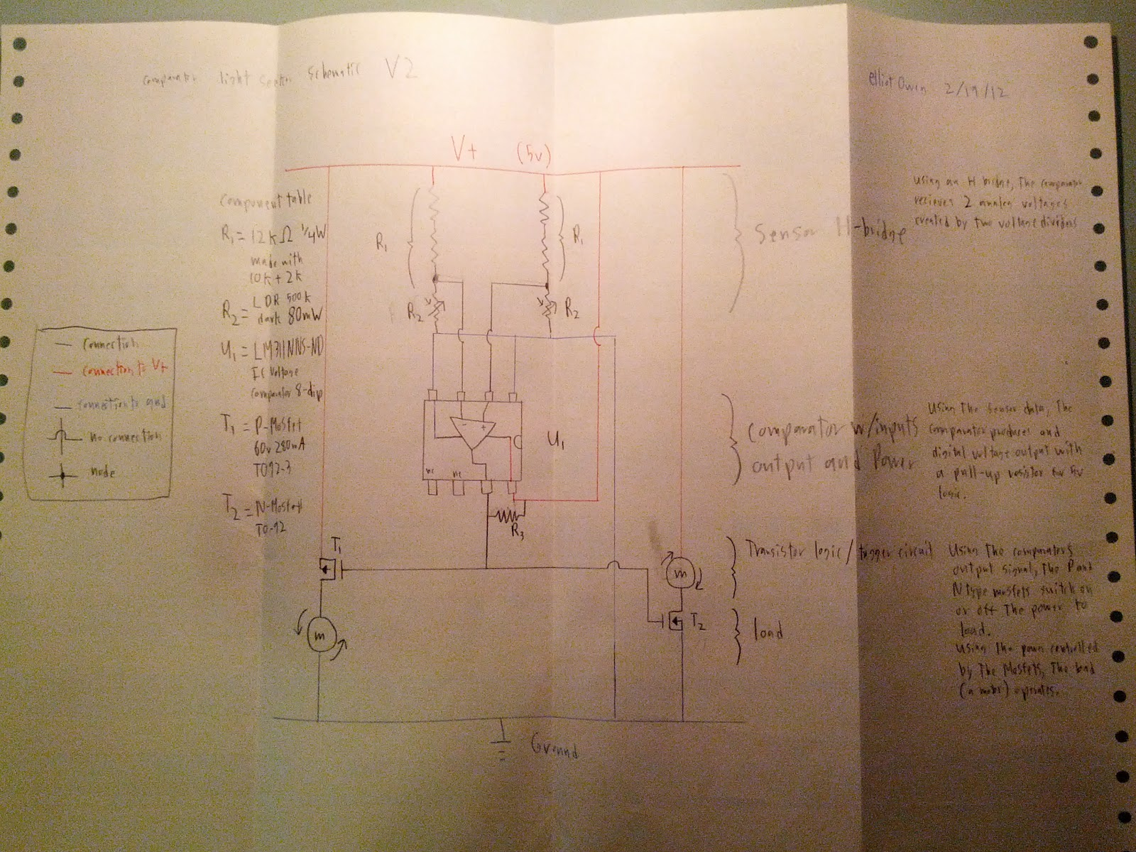 Robotic Circuit Page 3 Automation Circuits In Autonomous Robotics Opamp Lm324 Start With Of Why The Impossible Tribar Light Seeking Robot V1 V41