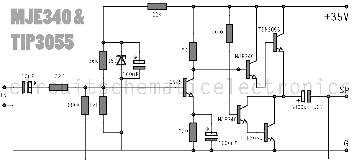 simple-amplifier-with-c945mje340-and html under repository-circuits