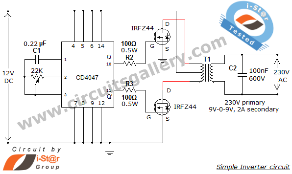inverter circuit page 2 power supply circuits. Black Bedroom Furniture Sets. Home Design Ideas