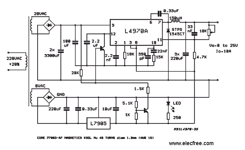 switching power supply page 4   power supply circuits