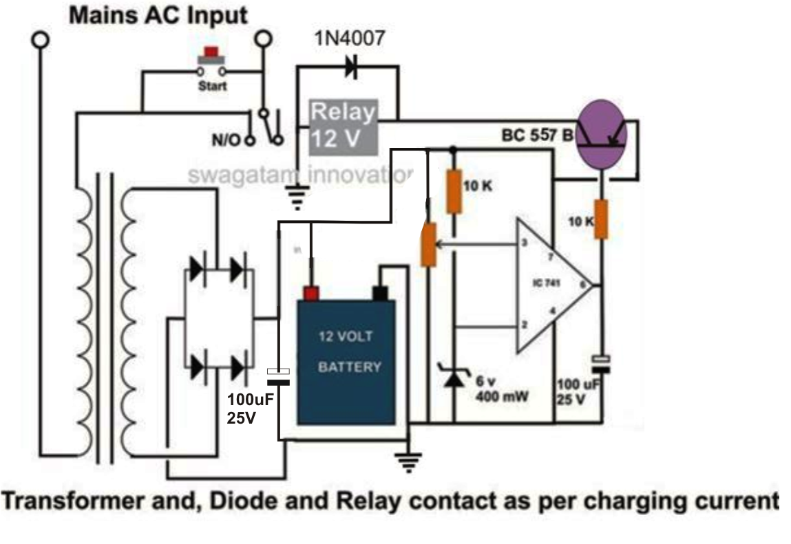 Top Circuits Page 118 Battery Charge Current Indicators Controlcircuit Circuit Diagram High 10 To 20 Amp Automatic