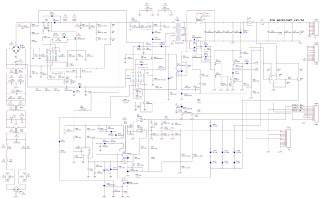HYUNDAI HLCD-32XT 32 LCD TV MAIN POWER REGULATOR [SMPS] - schematic