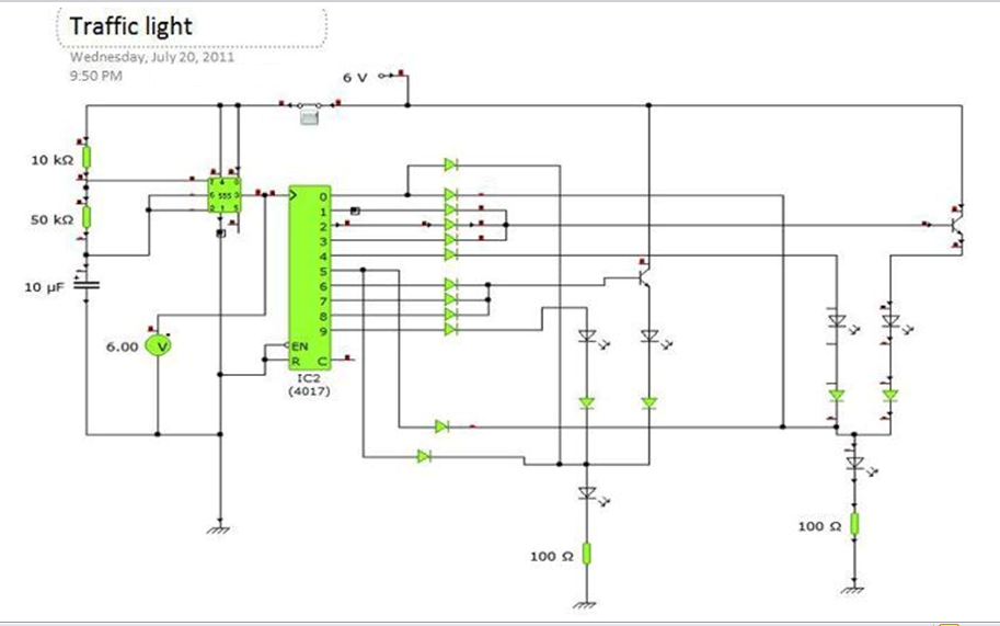 Contemporary Traffic Light Wiring Diagram Mold - Electrical and ...