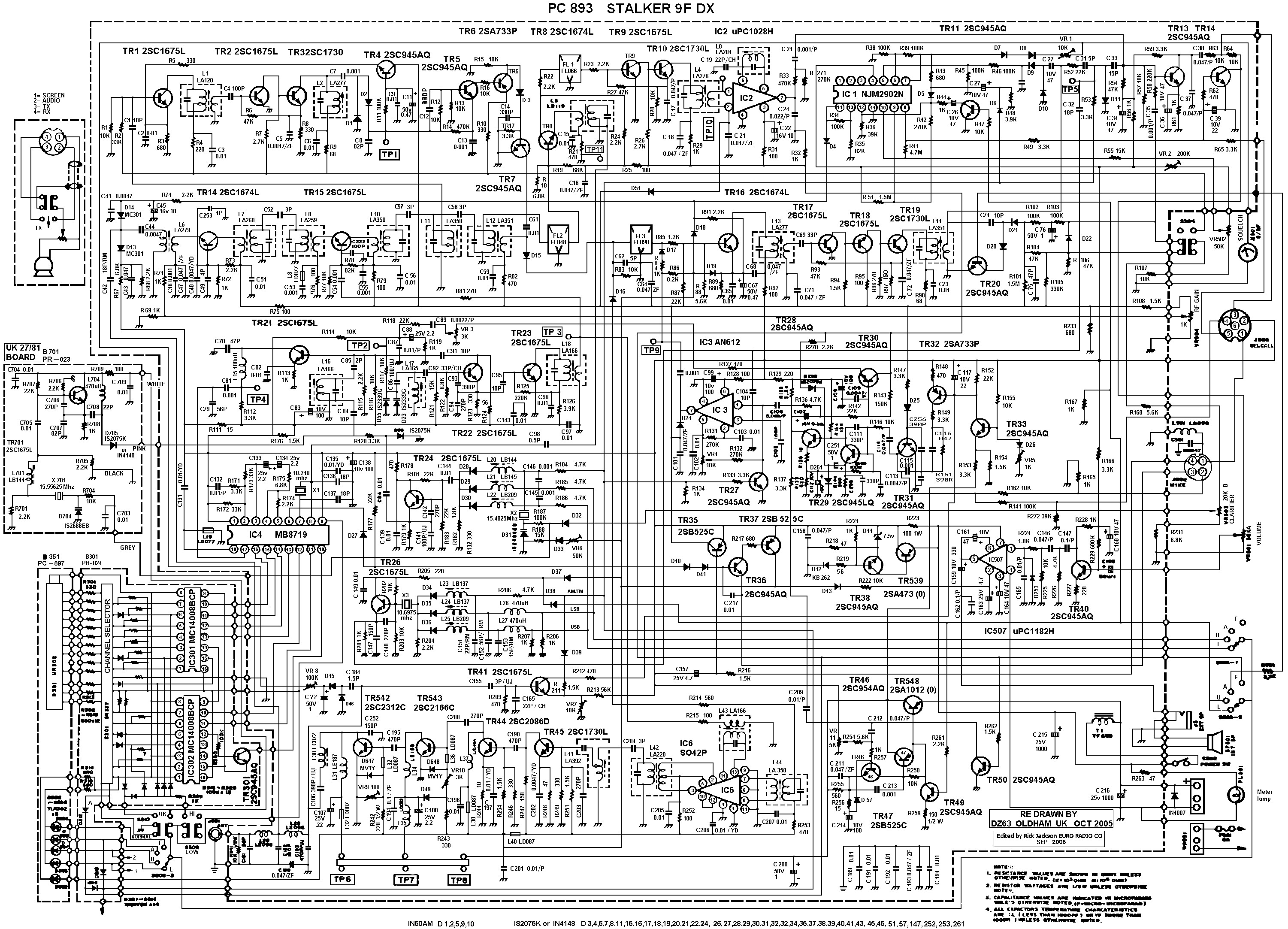 Fm 741 Op Amp Power 2n2219 Layout Suggested Printed Circuit Board