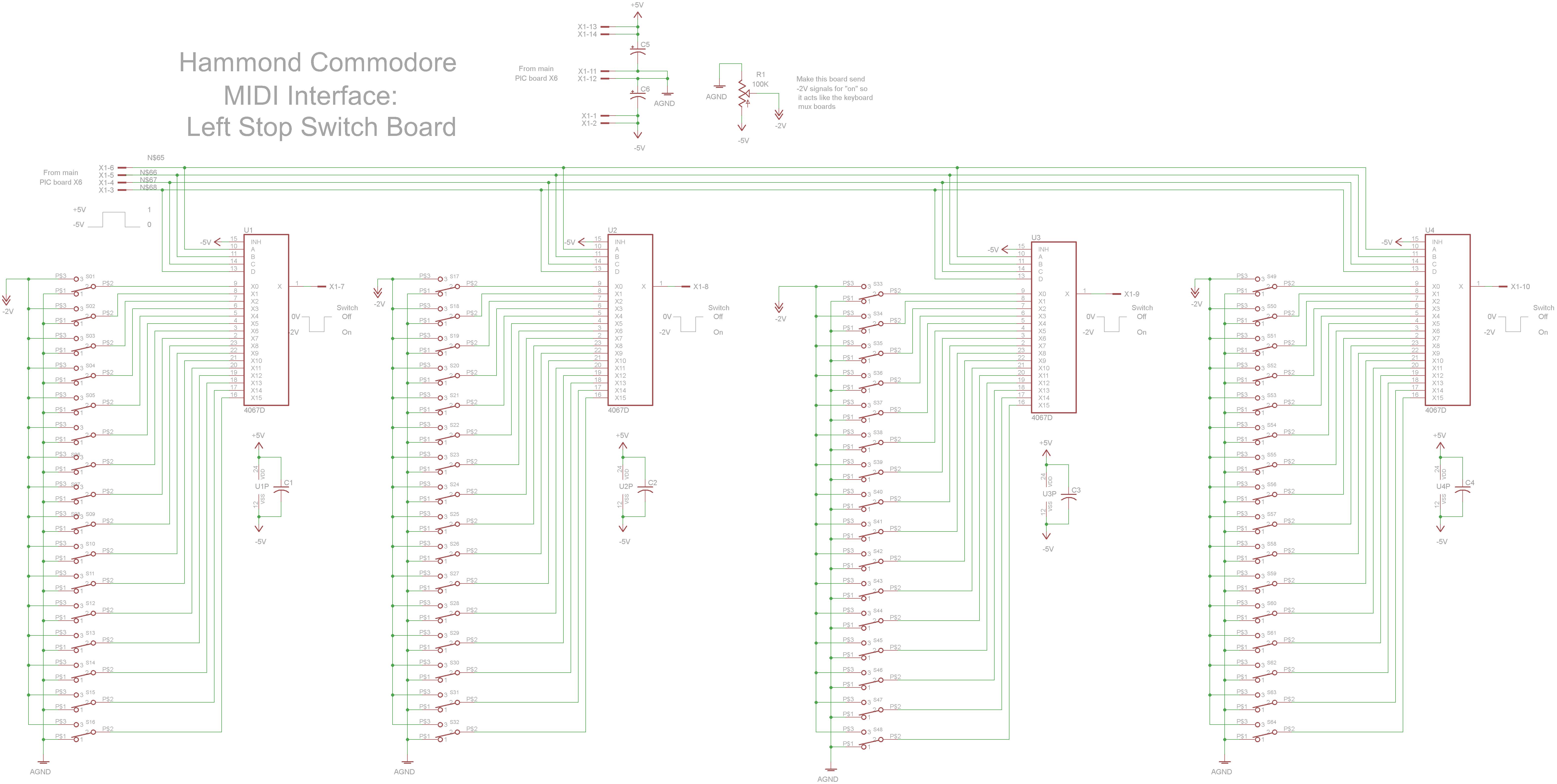 Computer Interface Circuit Page 6 Circuits 2 Nextgr Hammond Commodore Midi